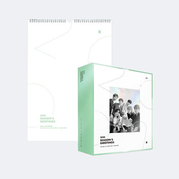BTS - 2020 SEASON'S GREETING & WALL CALENDAR Set + Mouse pad