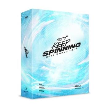 GOT7 2019 WORLD TOUR 'KEEP SPINNING' IN SEOUL (DVD)