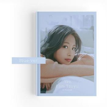 Tzuyu - 1ST PHOTOBOOK [Yes, I am Tzuyu] (B:BLUE Ver.)