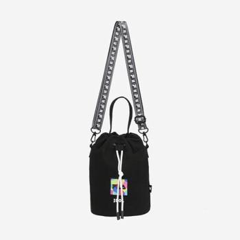 <FILA X BTS> IDOL BURKET Bag  (Black)