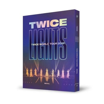 TWICE - TWICE WORLD TOUR 2019 [TWICELIGHTS] IN SEOUL (BLU-RAY) + Poster