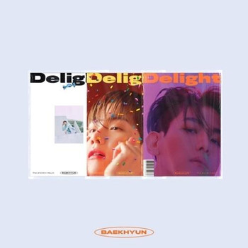 BAEK HYUN - 2nd Mini [Delight]  (Cover random)