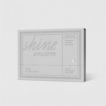 KIM SUNG KYU - SOLO CONCERT   <SHINE ENCORE> DVD