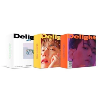 BAEK HYUN - 2nd Mini [Delight] Kit Album + Poster (A:Cinnamon / B:Honey /C:Mint Ver.)