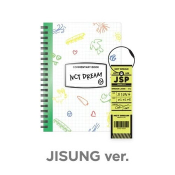 NCT DREAM - [JISUNG] NCT LIFE :  DREAM in Wonderland Commentary Book + Luggage Tag SET