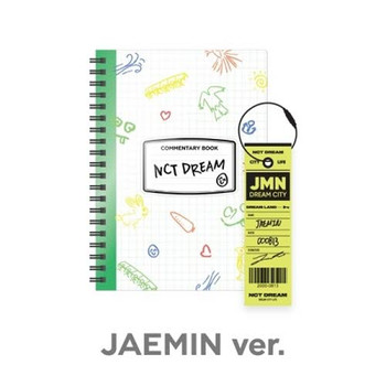 NCT DREAM - [JAEMIN] NCT LIFE :  DREAM in Wonderland Commentary Book + Luggage Tag SET