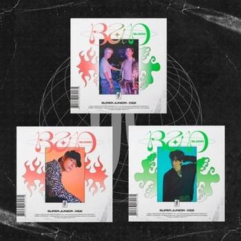 SUPER JUNIOR  D&E - 4th Mini [BAD BLOOD] (A:Hot Blood / B:Cold Blood /  C: Balance ver.)