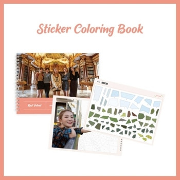 Red Velvet - Sticker Coloring Book