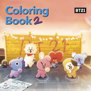 BT21 - Coloring Book 2