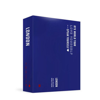 BTS  - WORLD TOUR [LOVE YOURSELF: SPEAK YOURSELF] LONDON DVD