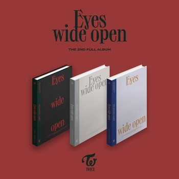 TWICE - Vol.2 [Eyes wide open]  (A:Story / B:Style / C: Retro ver.)