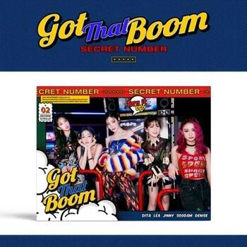 SECRET NUMBER - 2nd Single [Got That Boom] + Poster