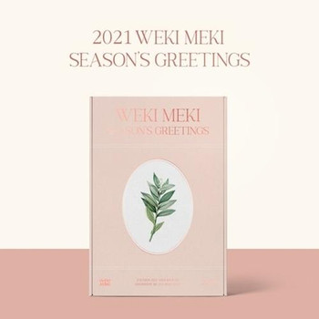WEKI MEKI - 2021 SEASON'S GREETINGS