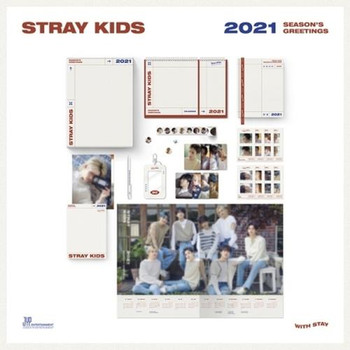 STRAY KIDS - 2021 SEASON'S GREETINGS