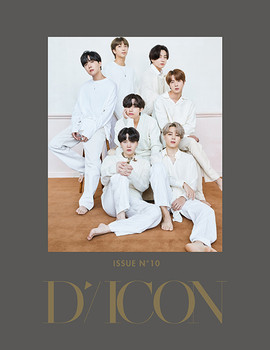 (ENG. ver) D-icon - vol.10 BTS goes on!  (Group Ver.) + Poster