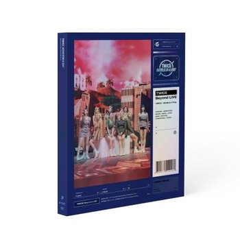 TWICE - Beyond LIVE TWICE : World in A Day PHOTOBOOK + Poster
