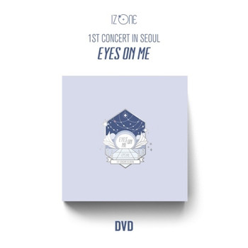 IZ*ONE - 1ST CONCERT IN SEOUL [EYES ON ME] DVD + Poster