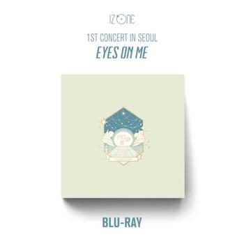 IZ*ONE ONLINE CONCERT [EYES ON ME]  BLU-RAY + Poster