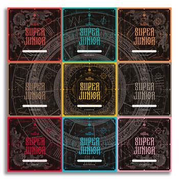 SUPER JUNIOR - Vol.10 [The Renaissance] (SQUARE Style) (Random Ver.)