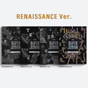 SUPER JUNIOR - Vol.10 [The Renaissance] (The Renaissance Style) (RENAISSANCE Ver.) +Poster