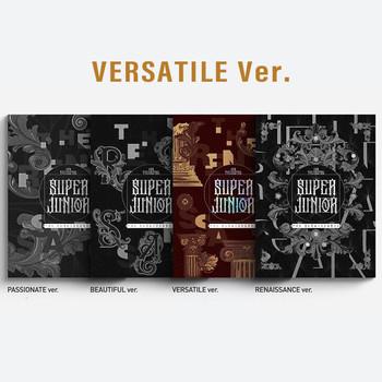 SUPER JUNIOR - Vol.10 [The Renaissance] (The Renaissance Style) (VERSATILE Ver.) +Poster