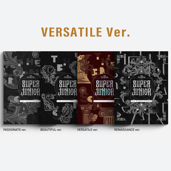 SUPER JUNIOR - Vol.10 [The Renaissance] (The Renaissance Style) (VERSATILE Ver.)