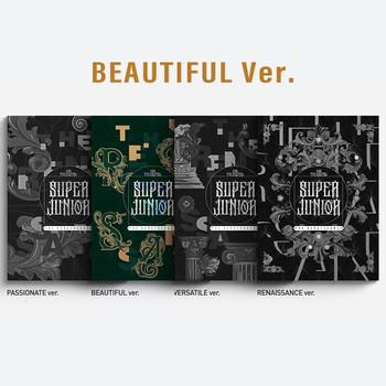 SUPER JUNIOR - Vol.10 [The Renaissance] (The Renaissance Style) (BEAUTIFUL Ver.) +Poster