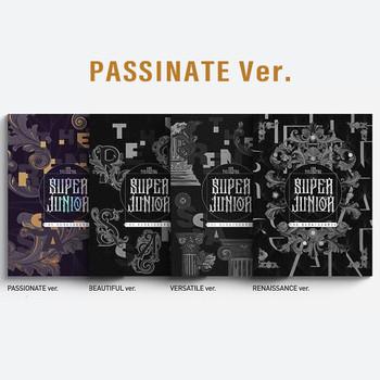 SUPER JUNIOR - Vol.10 [The Renaissance] (The Renaissance Style) (PASSINATE Ver.) +Poster