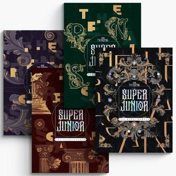 SUPER JUNIOR - Vol.10 [The Renaissance] (The Renaissance Style) (FULL Ver.) +Poster on pack