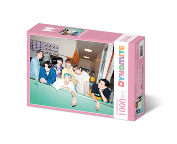BTS -  'Dynamite' Puzzle 735x510(mm) 1000p [PINK]