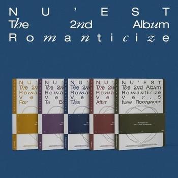 NU'EST - Vol.2 [Romanticize] 5 Set Ver. + Poster