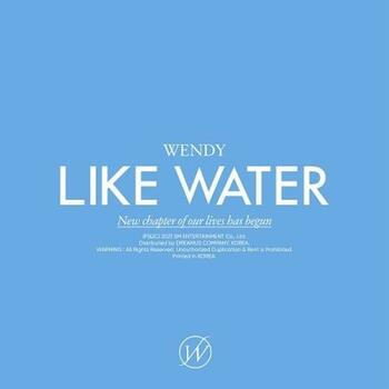 WENDY - 1st Mini / [Like Water] Case Ver.