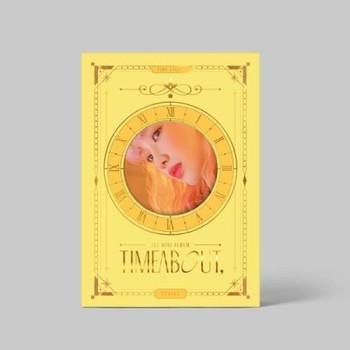 YUKIKA - 1sr Mini [timeabout,] TIME LIGHT Ver. + Poster