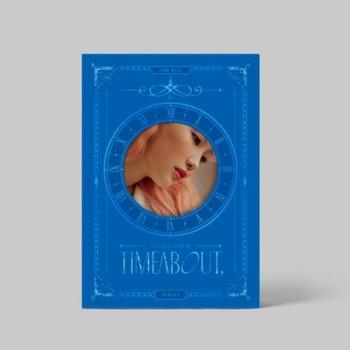 YUKIKA - 1sr Mini [timeabout,] TIME BLUE Ver. + Poster