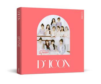 D-icon  Vol.11 IZ*ONE [SHALL WE *Dance? 13.] Megazine (Group Edition)