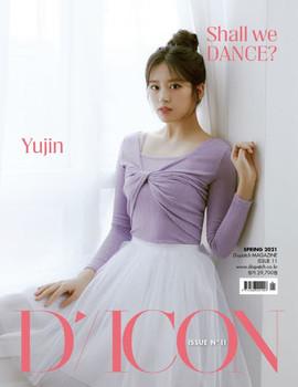 D-icon  Vol.11 IZ*ONE [SHALL WE *Dance? 11.] Megazine (AN YU JIN)