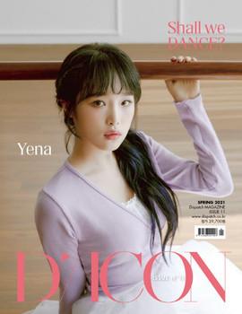 D-icon  Vol.11 IZ*ONE [SHALL WE *Dance? 04.] Megazine (CHOI YE NA)