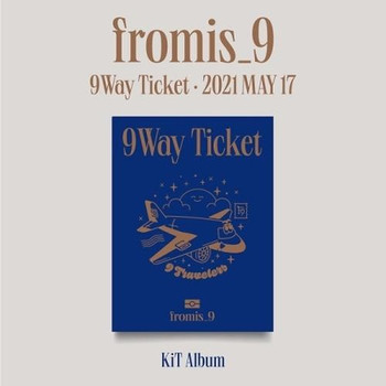 FROMIS_9 - 2nd Single [9 WAY TICKET] Kit Album