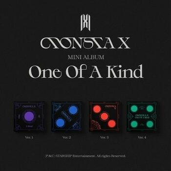 MONSTA X - Mini Album [ONE OF A KIND] 4 Set Ver.