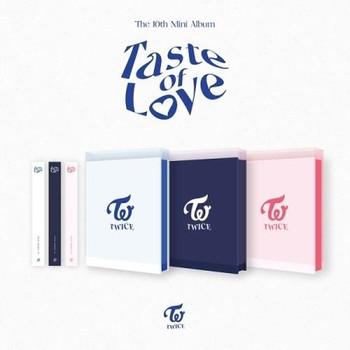 TWICE - 10th Mini [Taste of Love] Random Ver. + Photo Card + Poster