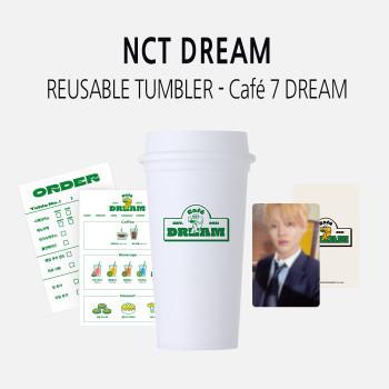 NCT DREAM - REUSABLE TUMBLER - Café 7 DREAM