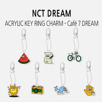 NCT DREAM - ACRYLIC KEY RING CHARM - Café 7 DREAM