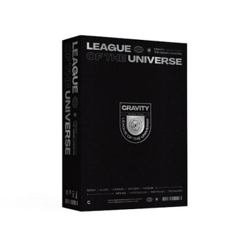 CRAVITY - [CRAVITY LEAGUE OF THE UNIVERSE] DVD (1 DISC)