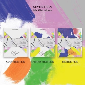 SEVENTEEN - 8th Mini [Your Choice] 3 Set Ver. + Poster