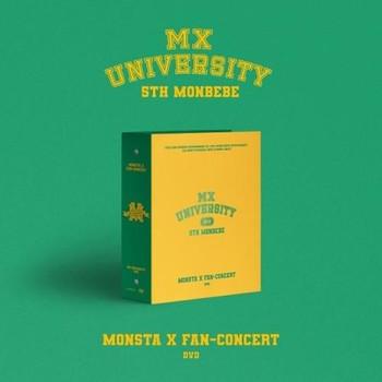 MONSTA X - MONSTA X 2021 FAN-CONCERT [MX UNIVERSITY] DVD