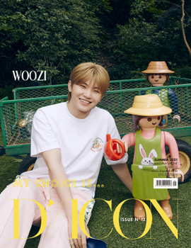 D-ICON vol.12 [MY CHOICE IS... SEVENTEEEN] SPECIAL EDITION : WOOZI