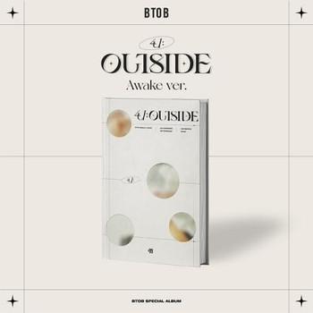 BTOB - Special Album [4U : OUTSIDE] Awake Ver. + Poster