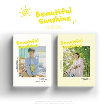 Lee EunSang - 2nd Single [Beautiful Sunshine] 2 Set Ver. + Poster 2