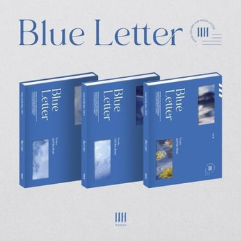 WONHO - 2ND mini [Blue letter] 3 Set Ver.