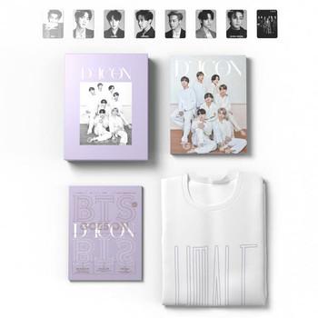 BTS D-ICON [GOES ON _ Global Edition] (English ver.) p332 magazine + p132 photobook + 8pcs photocards + t-shirt